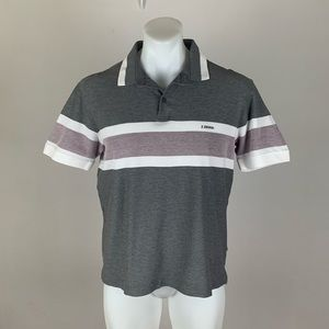 Zegna Striped Polo